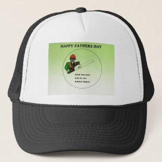 Aborist Tree surgeon Fathers Day present gift. Trucker Hat