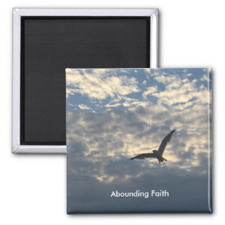 Abounding Faith Bird Magnet