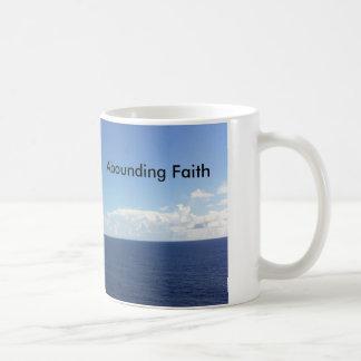 Abounding Faith Mug Ocean