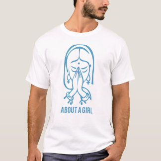 About A Girl Namaste T-Shirt