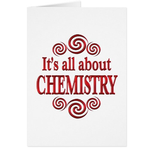 About Chemistry Card