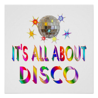 About Disco Poster