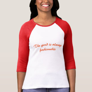 about good! t-shirt, pink long, the good is always T-Shirt
