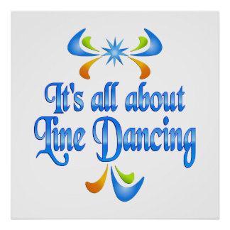 About Line Dancing Print