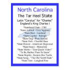 About North Carolina Postcard