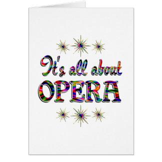About Opera Card