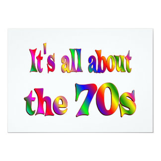 About the 70s card