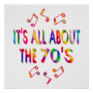 About the 70s poster