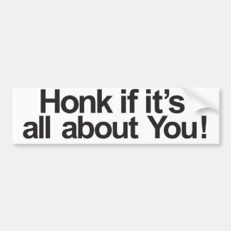 About you bumper sticker