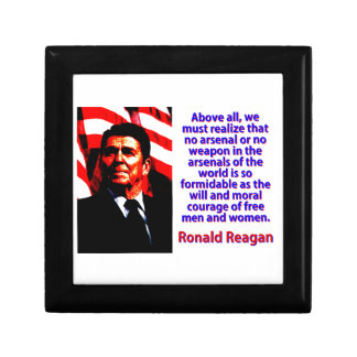 Above All We Must Realize - Ronald Reagan Gift Box