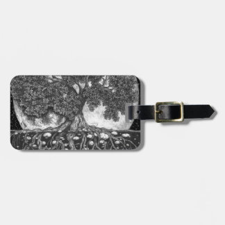 Above and Below 600 DPI Luggage Tag