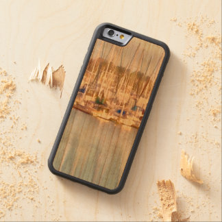 Above and below carved cherry iPhone 6 bumper case