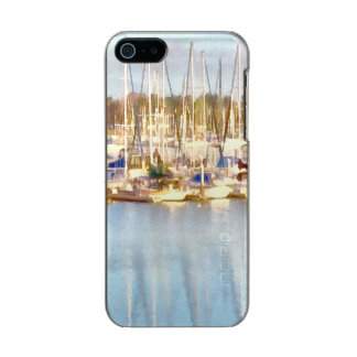 Above and below incipio feather® shine iPhone 5 case