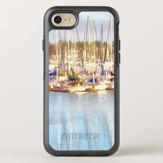 Above and below OtterBox symmetry iPhone 8/7 case