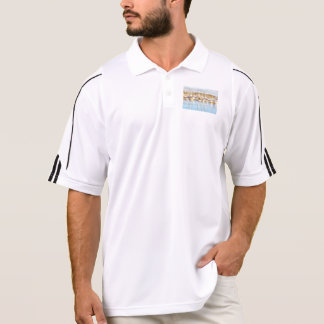 Above and below polo shirt
