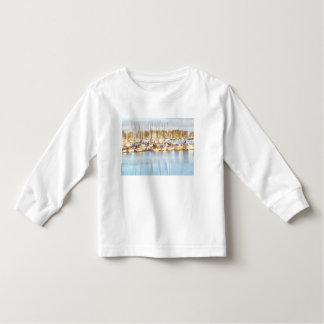 Above and below toddler t-shirt