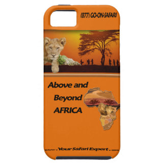 Above and Beyond Africa iPhone 5/5S case