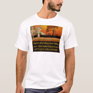 Above and Beyond Africa LIGHT-COLORED T-Shirt