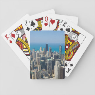 Above Chicago Playing Cards