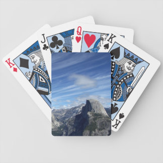 Above Half Dome Bicycle Playing Cards