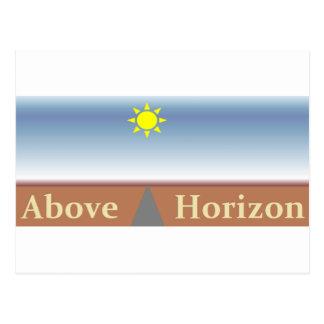 Above Horizon Postcard
