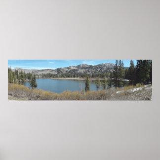 Above Silver Fork Lake print