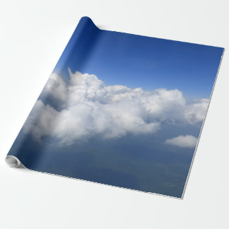 above the clouds 03 wrapping paper