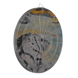 Above the clouds dartboard