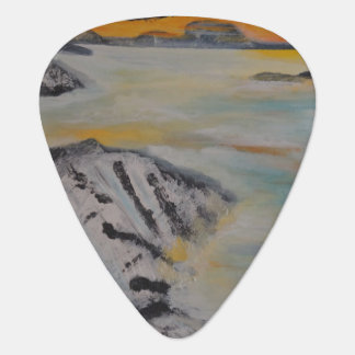 Above the clouds guitar pick