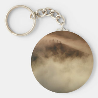 Above the clouds keychain