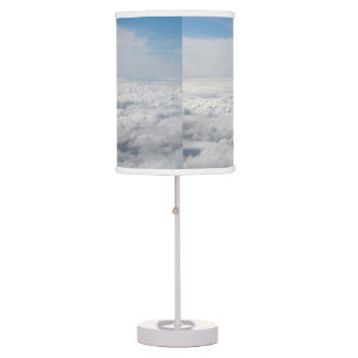 Above the Clouds Nature Sky Blue White Lamp