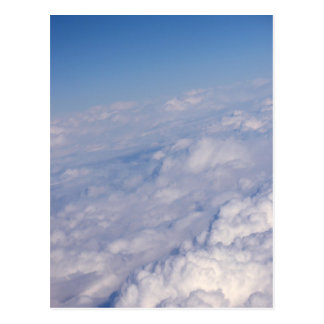 above the clouds postcard