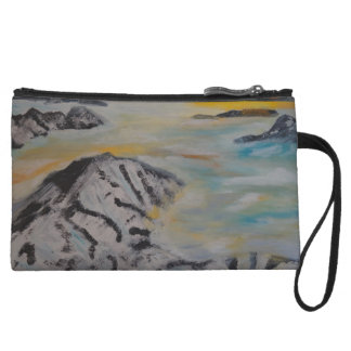 Above the clouds wristlet