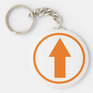 Above the Influence - Orange Keychain