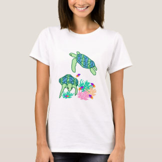 Above the rest sea turtle  shirt