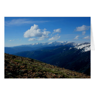 Above Tree Line - Berthoud Pass Note Card