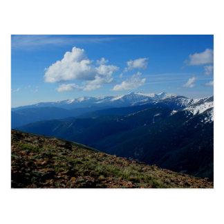 Above Tree Line - Berthoud Pass Postcard