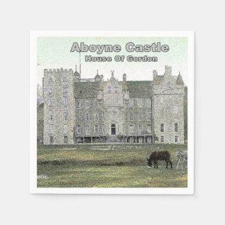 Aboyne Castle  – House of Gordon Paper Napkin
