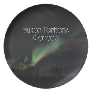 ABPAG Aurora Borealis Purple and Green Party Plates