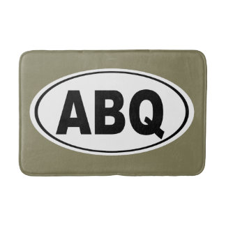 ABQ Albuquerque New Mexico Bathroom Mat