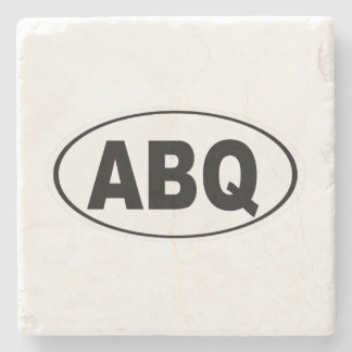 ABQ Albuquerque New Mexico Stone Coaster