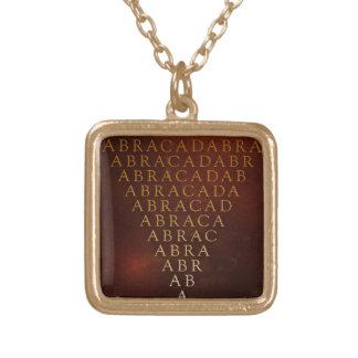 Abracadabra Necklace