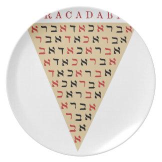 Abracadabra Plates