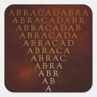 Abracadabra Sticker