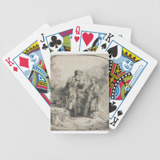 Abraham and Isaac Bicycle Playing Cards