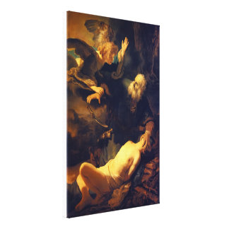 Abraham and Isaac Gallery Wrap Canvas