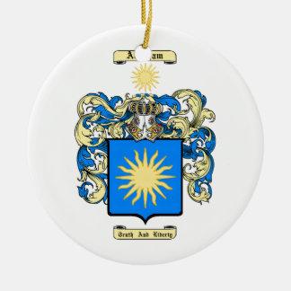 Abraham Ceramic Ornament