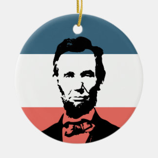 Abraham Lincoln 16th President Ceramic Ornament