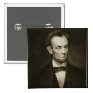 Abraham Lincoln, 16th President of the United Stat 2 Inch Square Button