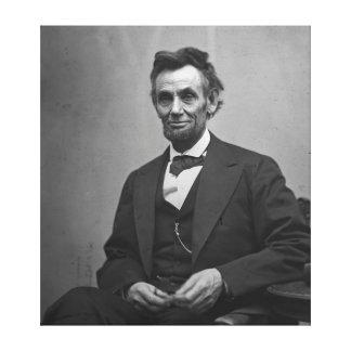 Abraham Lincoln 1865 Canvas Print